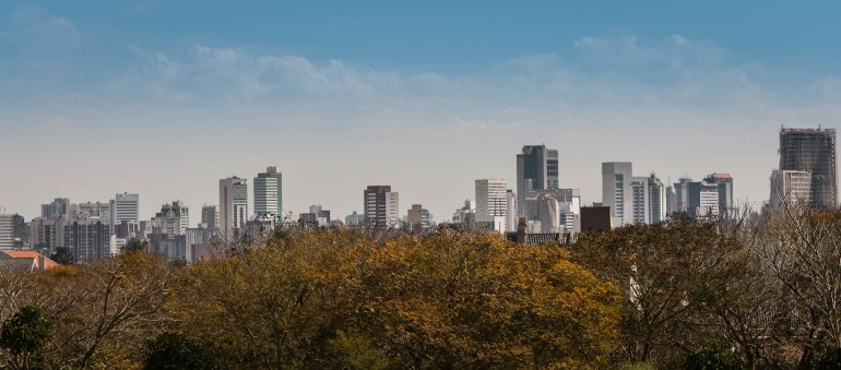 Curitiba-Skyline