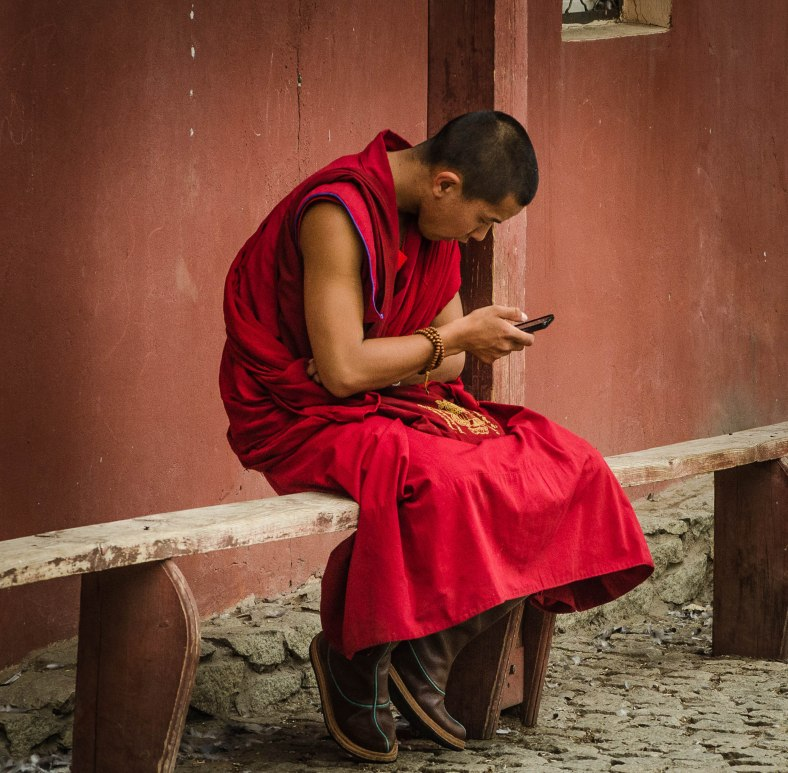 Young Buddhist Monk